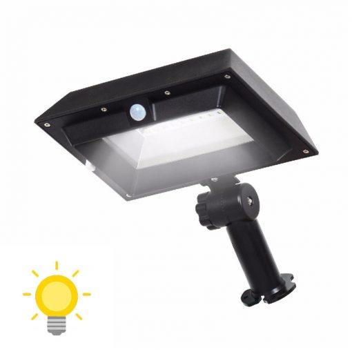 projecteur solaire gouttière