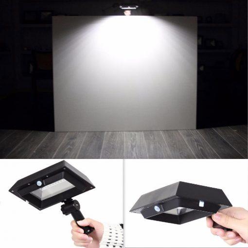 projecteur solaire gouttière puissant