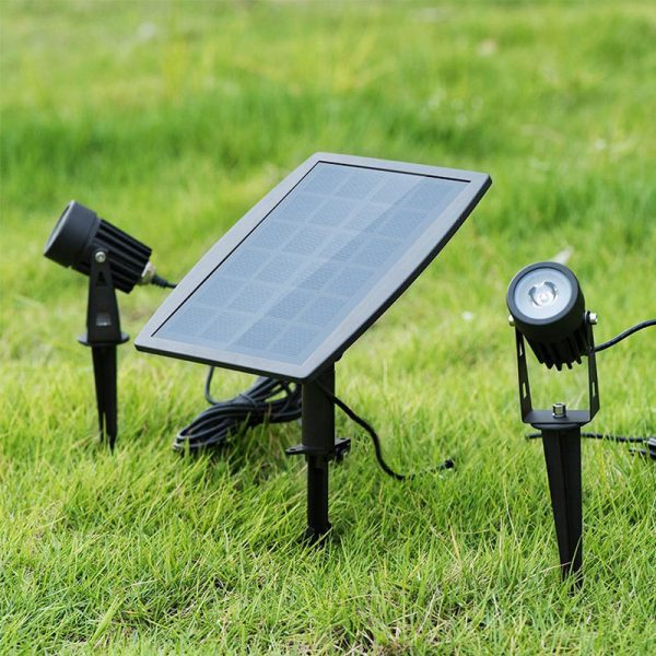 spot jardin a solaire puissant a led