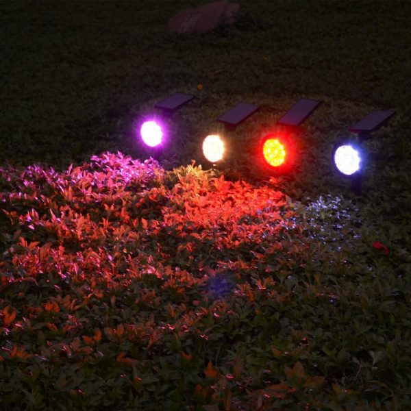 spot led couleur solaire puissant