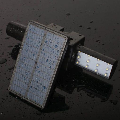 spot solaire à LED avec détecteur de mouvement étanche