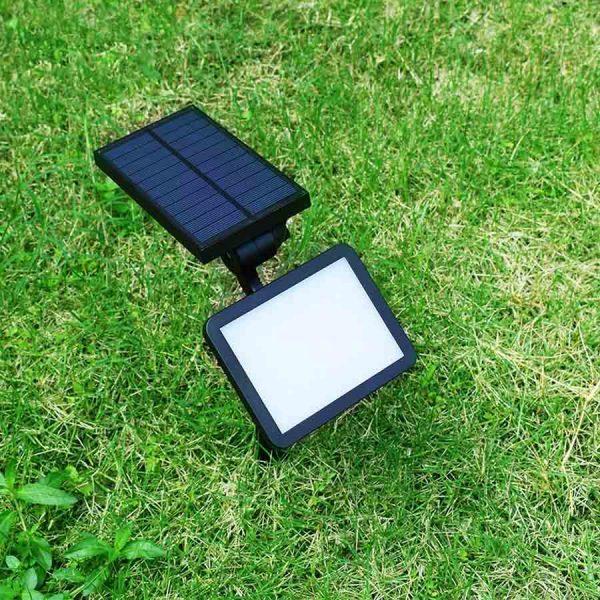 spot solaire jardin puissant extérieur