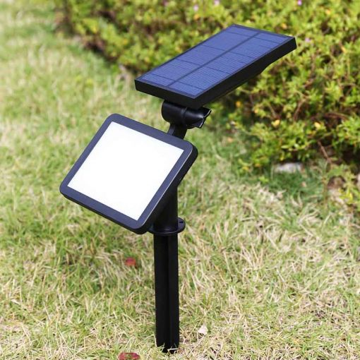 spot solaire jardin puissant led
