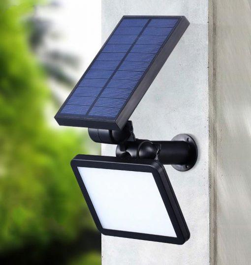 spot solaire jardin puissant pas cher
