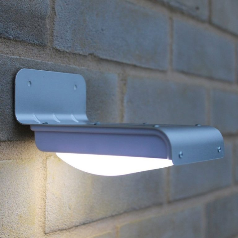 éclairage extérieur solaire mural lampe
