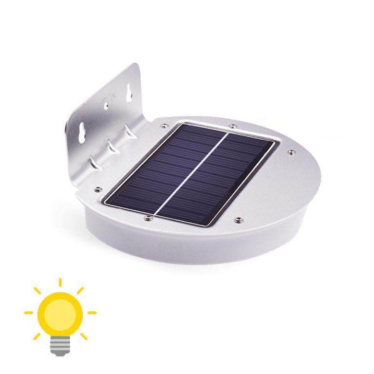 applique extérieur murale LED solaire lampe