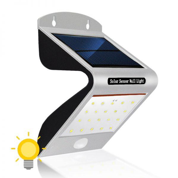 applique led solaire avec detecteur