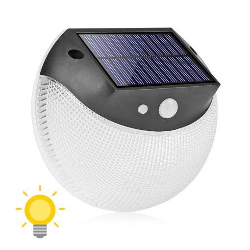 applique murale extérieur solaire led avec détecteur de mouvement