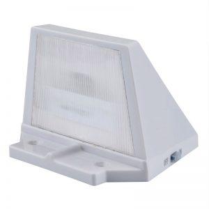 applique solaire blanche led
