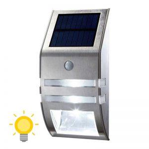 applique solaire de jardin