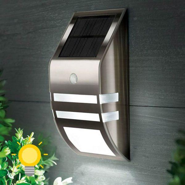 applique solaire de jardin led