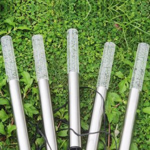 balise solaire design jardin