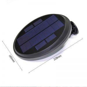 eclairage extérieur energie solaire dimensions