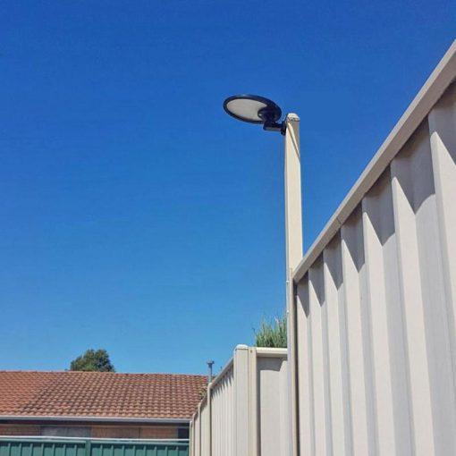 eclairage exterieur énergie solaire terrasse