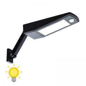 Éclairage LED solaire avec détecteur