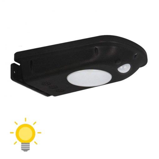 lampe led détecteur de mouvement solaire