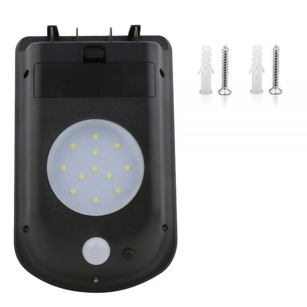 lampe led détecteur de mouvement solaire pas cher