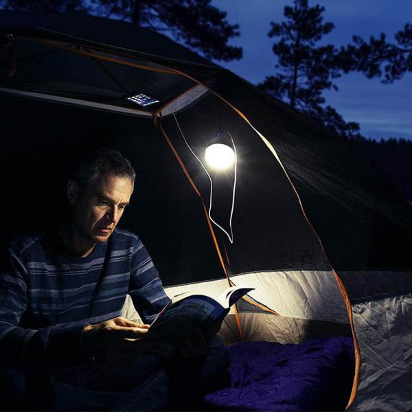 lampe led solaire camping puissante