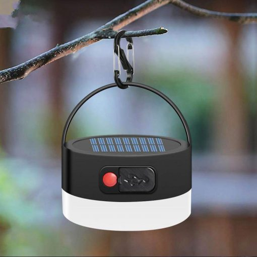 lampe led solaire camping rechargeable
