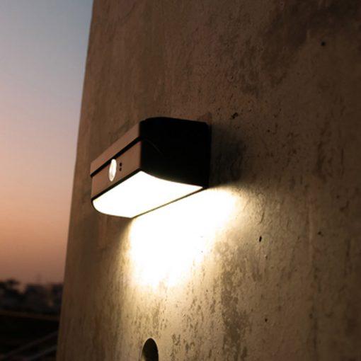 lampe led solaire extérieur pas cher etanche