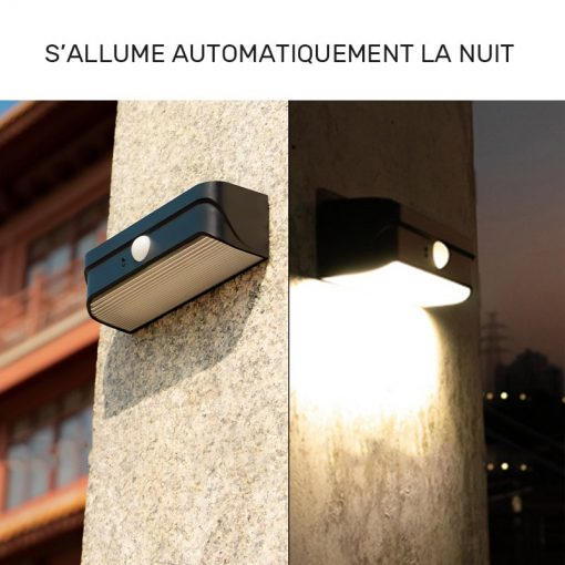 lampe led solaire extérieur pas cher terrasse