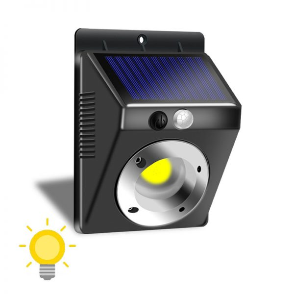 Lampe led solaire murale
