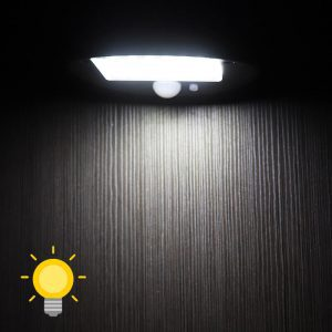 lampe solaire à poser sur table detecteur de mouvement