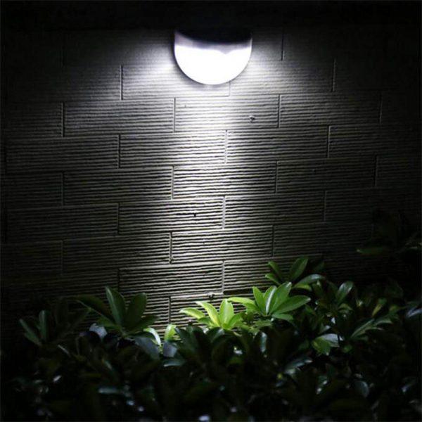 lampe solaire escalier extérieur pas cher