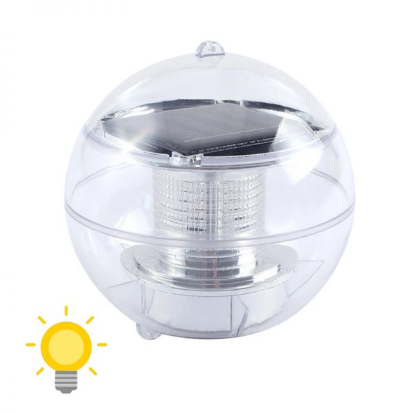lampe solaire flottant