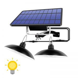 lampe solaire tonnelle