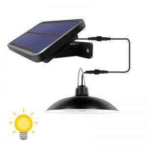 lampe solaire tonnelle extérieur
