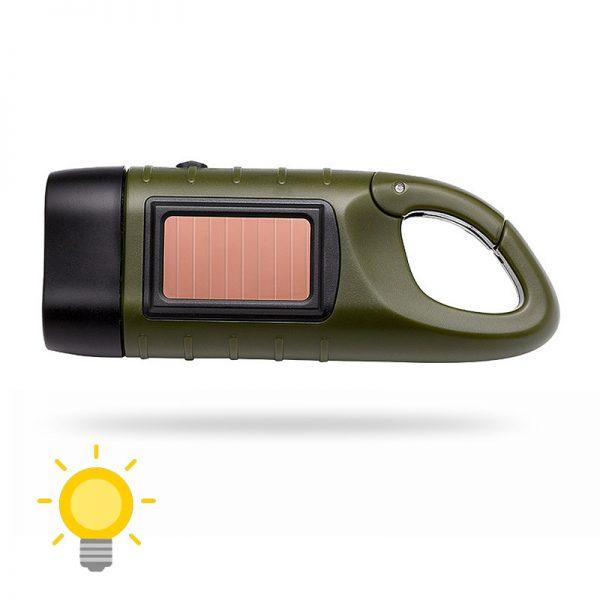lampe torche solaire et dynamo
