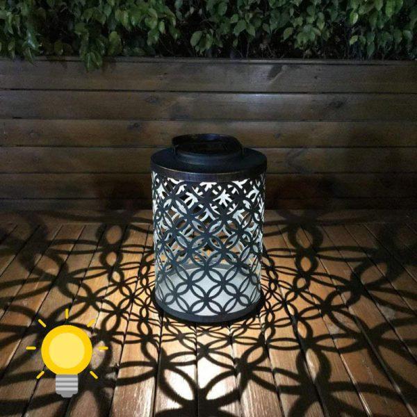 lanterne extérieur à poser solaire jardin