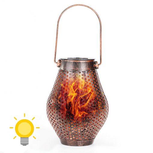 lanterne fer solaire