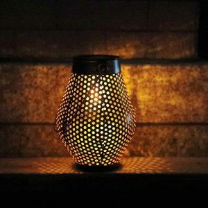 lanterne fer solaire led