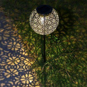lanterne solaire à planter jardin
