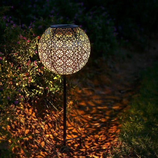 lanterne solaire à planter led