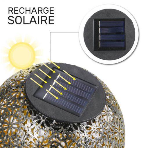 lanterne solaire à planter pas cher