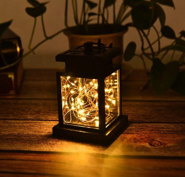 lanterne solaire à poser lumière chaude