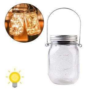 lanterne solaire bocal