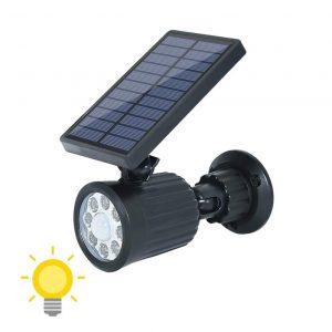 petit projecteur solaire