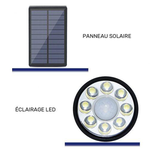 petit projecteur solaire led