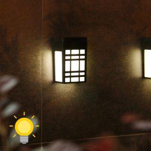 petite lampe solaire led extérieur