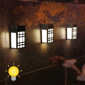 petite lampe solaire led murale