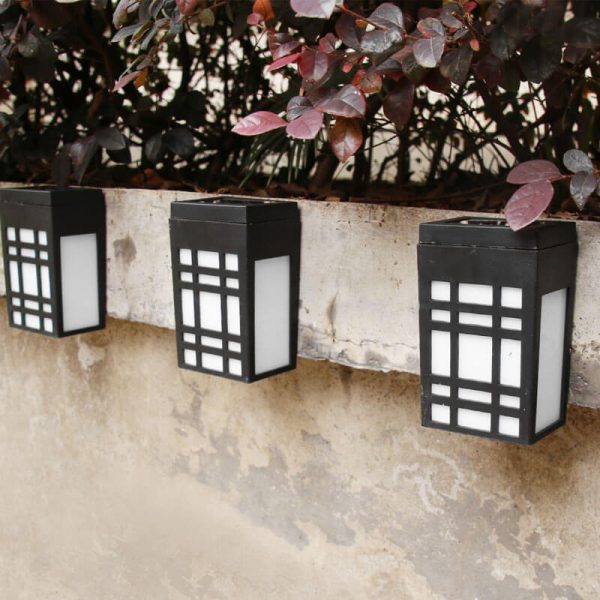petite lampe solaire led terrasse