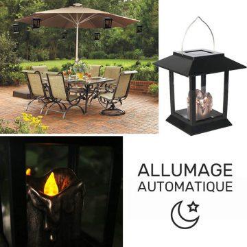 petite lanterne solaire exterieur jardin