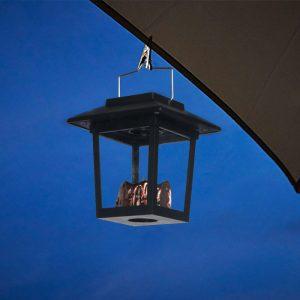 petite lanterne solaire extérieur led