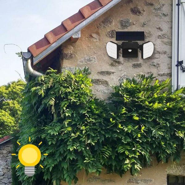 projecteur exterieur led solaire mouvement jardin