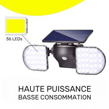 projecteur exterieur led solaire mouvement pas cher