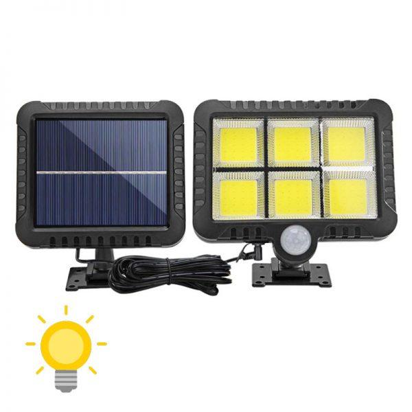 projecteur extérieur solaire led